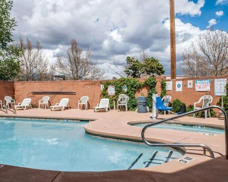 Welcome To Econo Lodge Inn & Suites New Mexico - Inviting Pool and Hot Tub